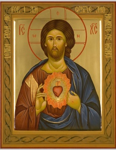 art 15 Sacred Heart icon
