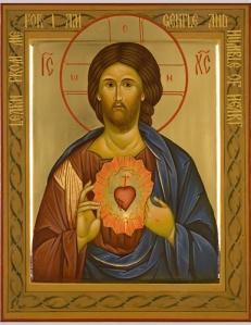 art 15 Sacred Heart icon