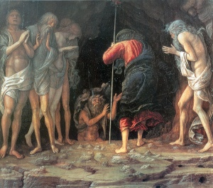 Harrowing of Hell, Christ's Descent into Limbo, Andrea Mantegna c. 1470